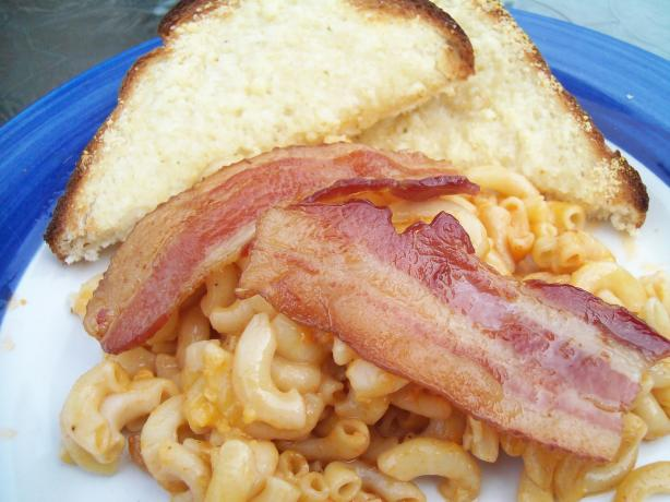 Macaroni and Bacon Casserole