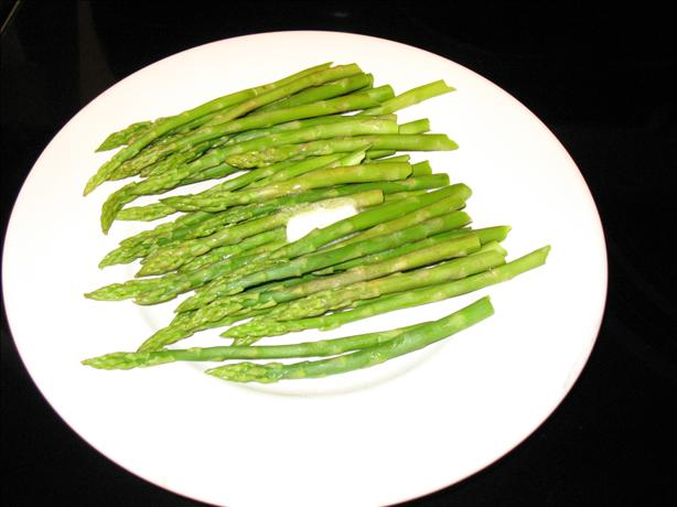 Simple, Not Mushy, Asparagus