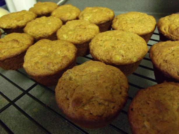 Nif's Peanut Butter Banana Muffins
