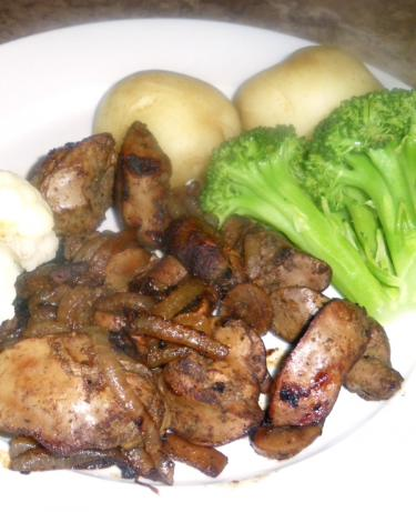 Chicken Giblets or Livers