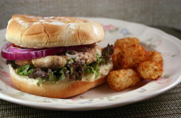 Boston Turkey Burger