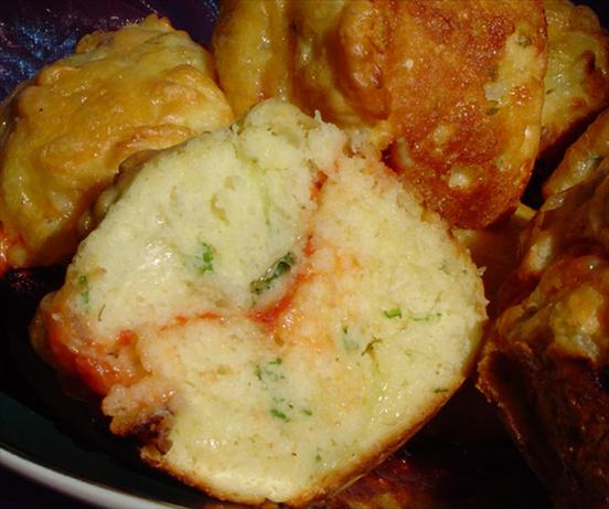Tomato, Cheese and Onion Muffins