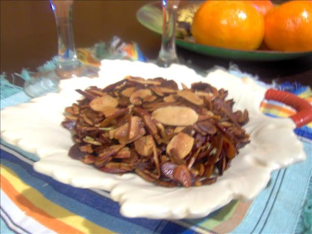 Almonds (great Appetizer With Drinks)