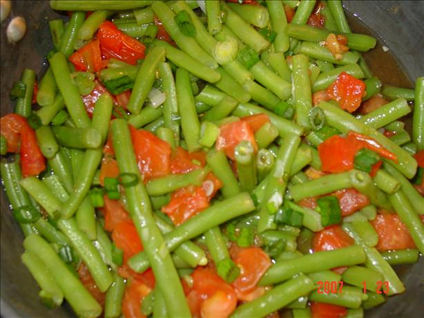 Green Bean and Tomato Stew