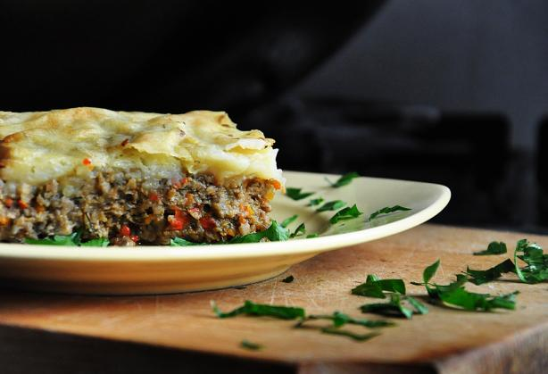 Vegetarian Mushroom Shepherd's Pie - With Vegan Version