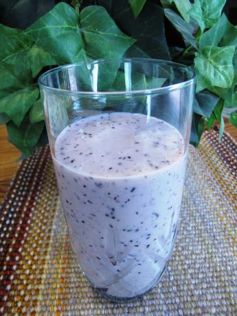 Banana-Berry Smoothie (No Added Sugar, Sugarless)