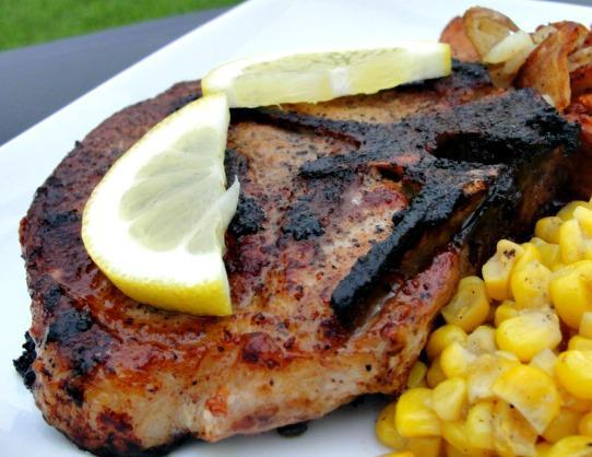 Kid Tested Mother Approved Portuguese Pork Chop