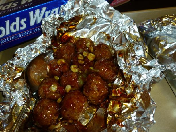 Oriental Meatball Veggie Packets #RSC