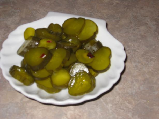 Homemade Sweet Dill Yum-Yum Pickles