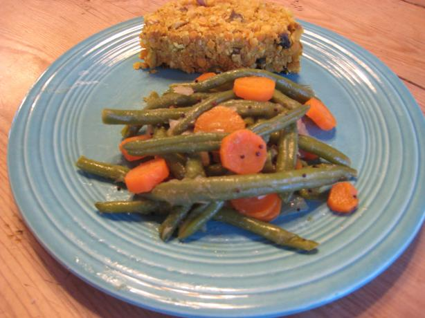 Indian-Style Green Beans