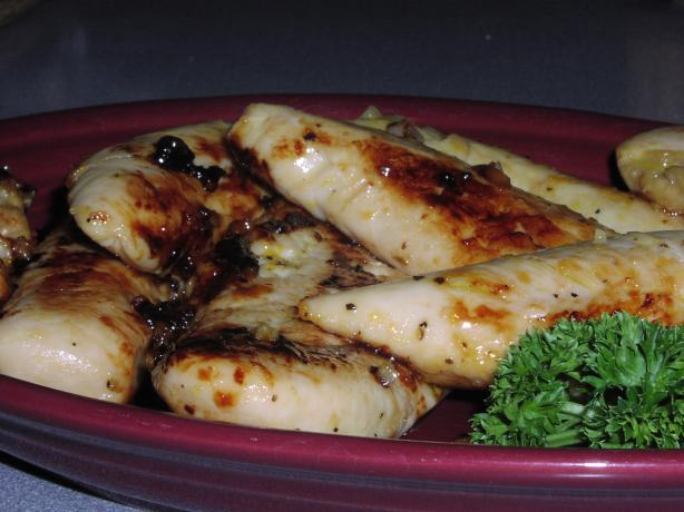 Pvw's Garlic Citrus Chicken