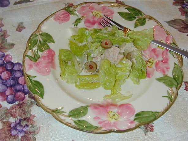 Lemony Tuna Salad