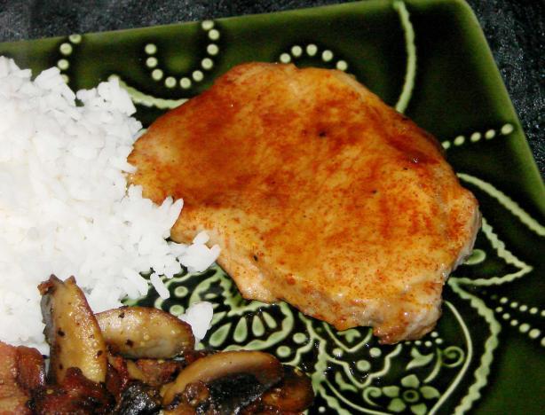 Maple-Mustard Glazed Pork Chops