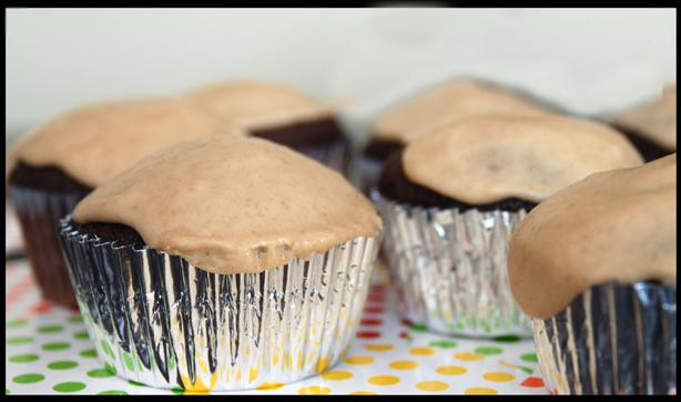 Texas Chocolate Cupcakes