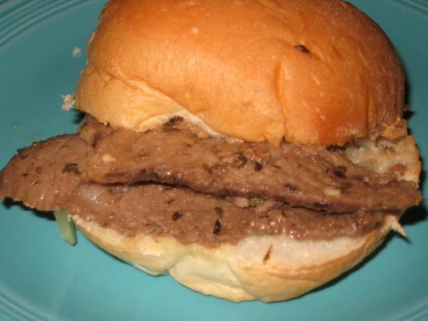 """ Da Best"" Chicago-Style Italian Beef"