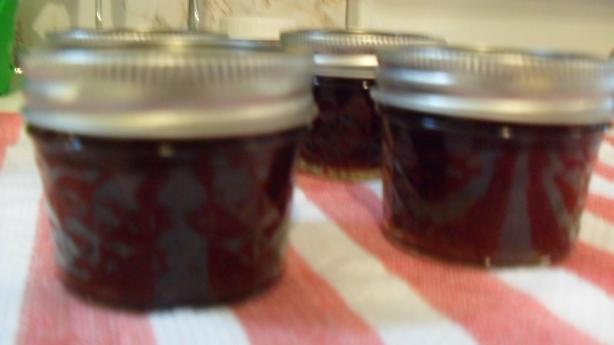 Spiced Cherry Jam, Small Batch