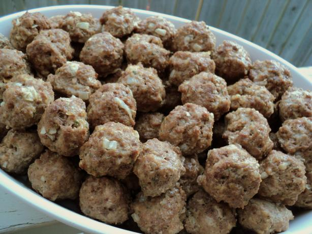Meatballs for Stocking up Freezer