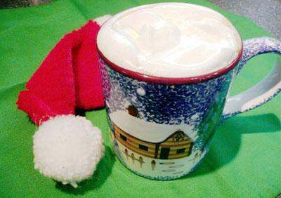 Hot Buttered Rum Coffee (Nonalcoholic)