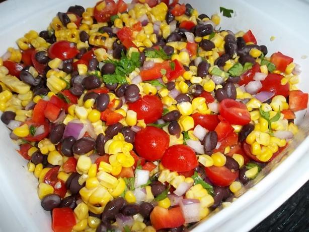 Grilled Summer Corn Salad #RSC