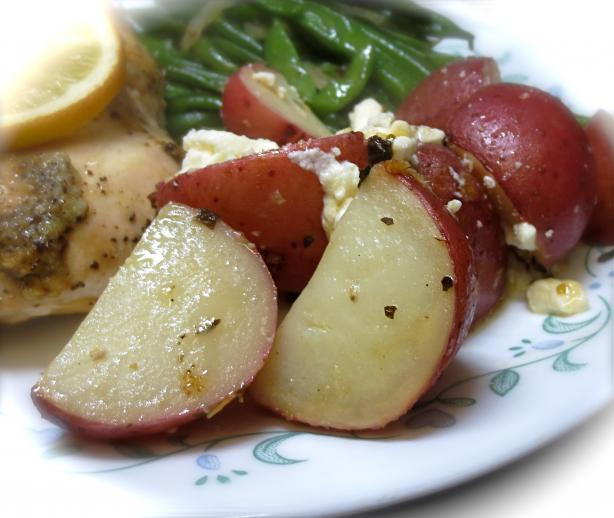 Greek-Style Lemon Potatoes