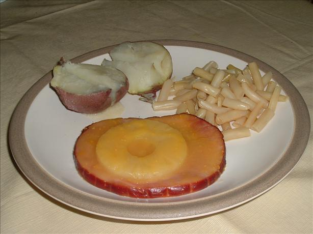 Simple Ham and Pineapple Dinner