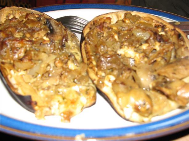 Stuffed (Aubergine) Eggplant