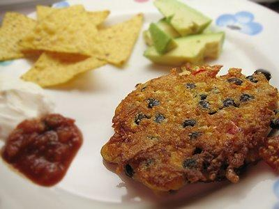 Black Bean, Corn, and Cheddar Fritters