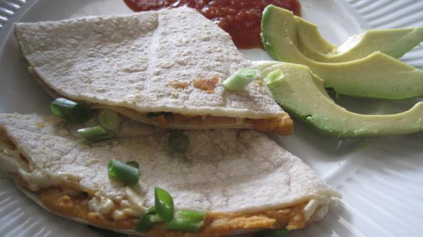 Quick Vegan Quesadillas