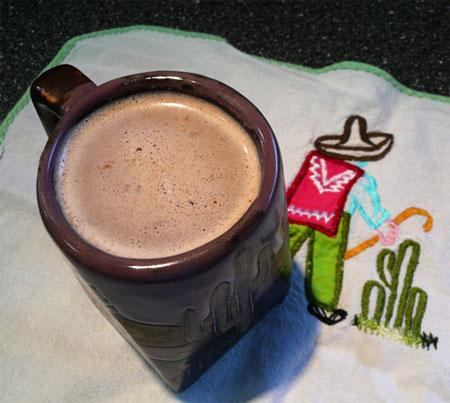 Mexican Almond Hot Chocolate