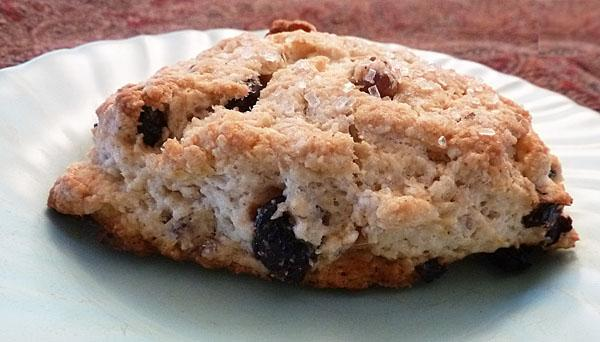 Blueberry and Pecan Scones