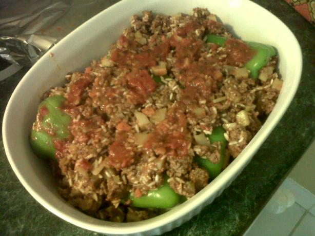 Stuffed Peppers - European Style