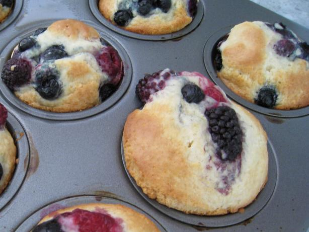 Jumbo Blueberry Muffins (or Cranberry)