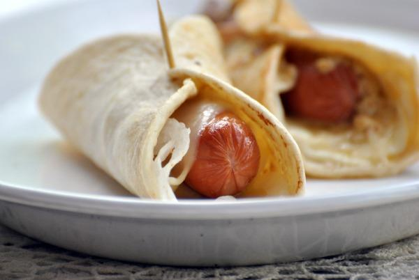 Hot Dog Roll Ups