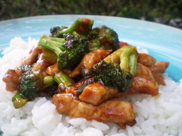 Pork With Broccoli and Hoisin Sauce