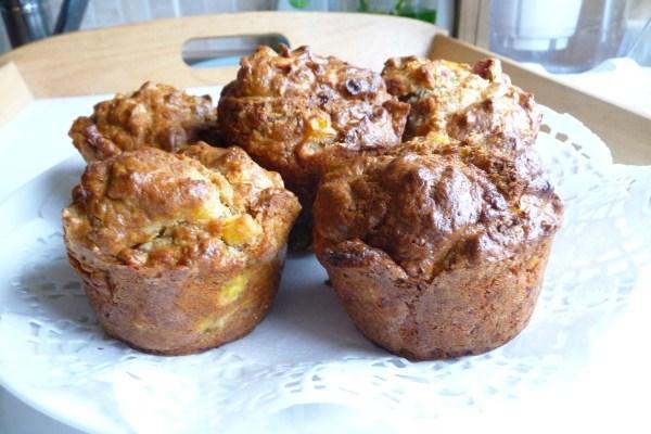 Corn Bacon Muffins