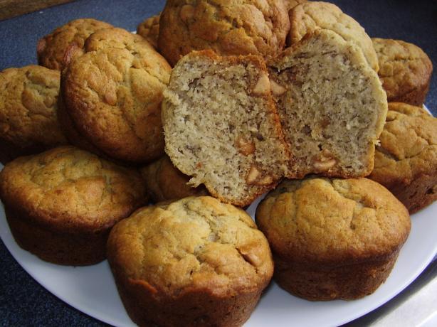 Banana Muffins, Fast, Easy & Yummy!