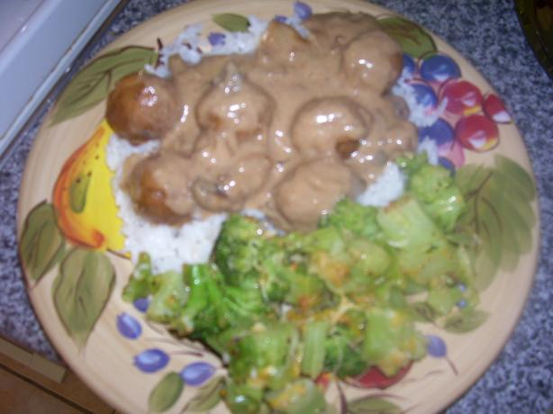 Meatballs in Mushroom Sauce