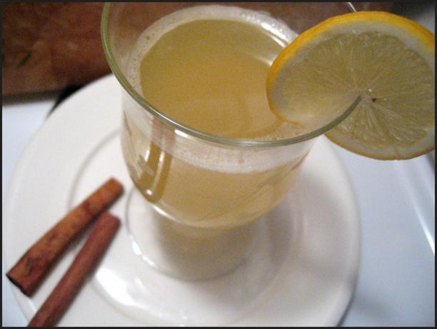 Hot Lemonade With Rum