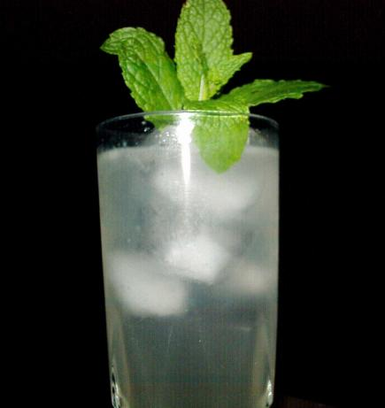 Ginger-Mint Mojitos