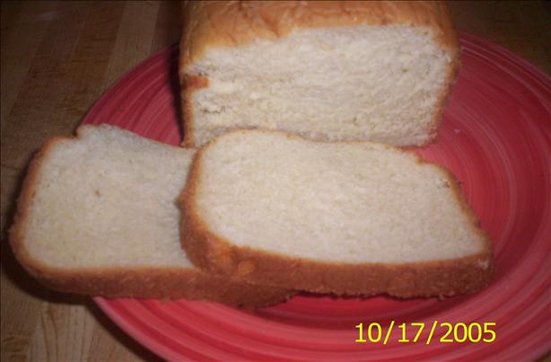 Fabulous Honey White Bread (Bread Machine)