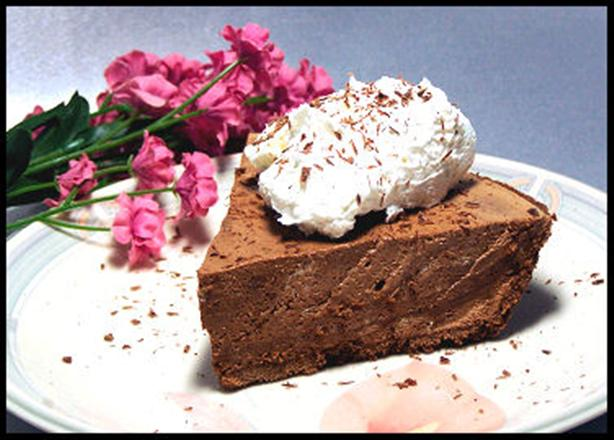 Irish Cream Chocolate Mousse Pie