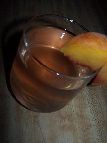 A Peach Infused Vodka