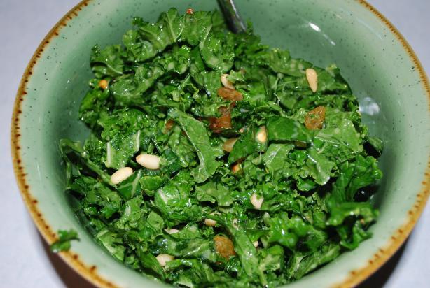 Farmers Market Kale Salad