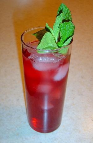 Chamomile-Pomegranate Tea