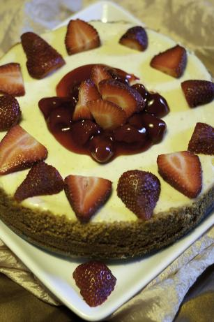 Pampered Chef Perfectly Creamy Cheesecake