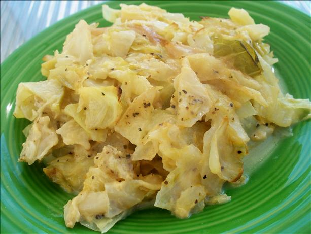 Cabbage Apple and Cheese Casserole