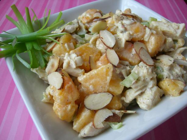Curried Chicken Salad With Nectarines