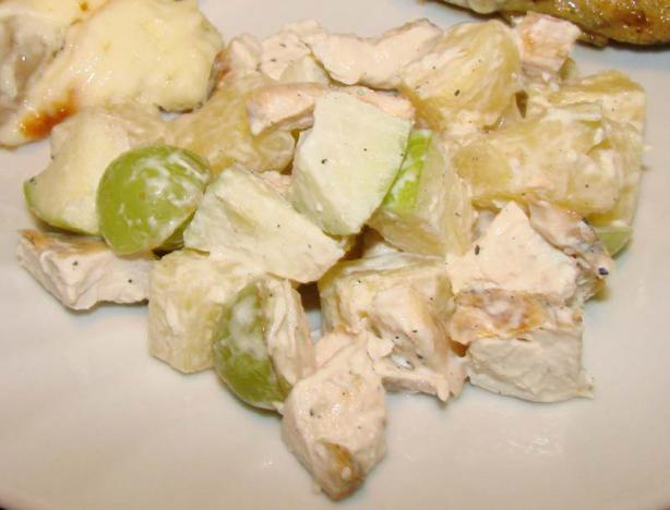Carol's Chicken Fruit Salad