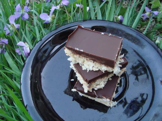 Coconut Chocolate Squares