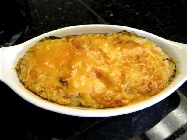 Cheesy, Creamy, Twice Baked Potatoes